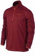 Men's LIVESTRONG Grid Half-Zip Top - Red