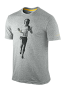 Men's LIVESTRONG Pre Run Tee - Grey Heather