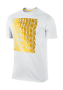 Men's LIVESTRONG Repeat Tee - White