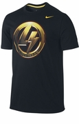 Men's LIVESTRONG  Shield of Strength Tee - Black
