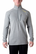Tahoe Fleece 1/2 Zip-Heather Grey
