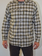 Traverse Shirt- Black & Yellow Plaid