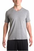 Vital V-Neck Tee � Heather Grey