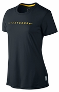 Women's LIVESTRONG Dri-FIT Legend Tee - Black