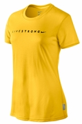 Women�s LIVESTRONG Dri-FIT Legend Tee - Yellow