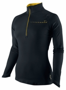 Women's LIVESTRONG Element Half-Zip - Black