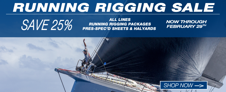 2016 Running Rigging Sale