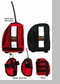 Force6 Swift Water Rescuer Vest Radio Pocket Right Front Removable
