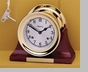"Chelsea 6"" Clock w/ Screw Bezel"