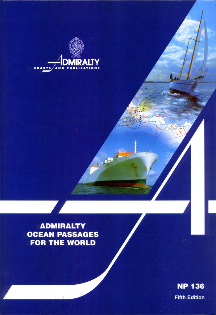 Admiralty Ocean Passages For The World 5th Ed