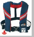 Automatic Inflatable PFD w/ Safety Harness