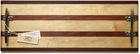 Soundview Millworks Nautically Themed Serving Boards - Multi Stripe Double Cleat