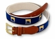 Landfall Classic Leather Tab Belt