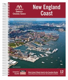 Maptech Embassy Guide New England Coast - 12th Ed.