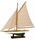Authentic Models Mini Pond Yacht
