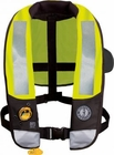 Mustang Hydrostatic Inflatable High Visibility Inflatable PFD