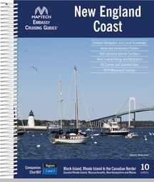 Maptech Embassy Guide New England Coast - 10th Ed.