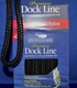 New England Ropes Double Braid Nylon Dock Line Black