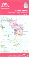 NV. Charts Abaco Islands Waterproof Chart