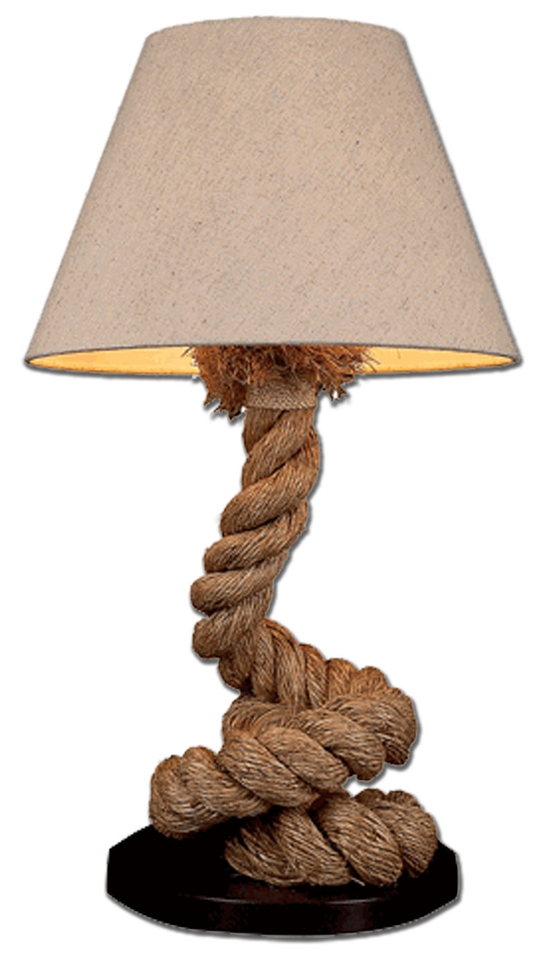 Classic bedside lamps - Gift Ideas Under 150 Gt Pier Rope Lamps Gt Pier Quot Coiled Quot Rope Lamp