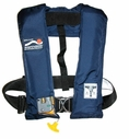 SOSpenders Life Jacket Regatta Automatic 1F Inflatable PFD w/ Safety Harness