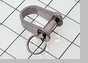 "Schaefer Stamped ""D"" Shackle, 1/4"" (6mm) Pin"
