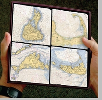 Screencraft Tile Coasters of New England