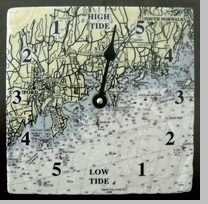 Tile Tide Clock of Connecticut