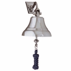 Weems & Plath  5 Nickel Bell w/ Navy Blue Lanyard