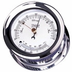 Weems & Plath  Chrome Plated Atlantis Barometer & Thermometer