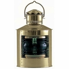 Weems & Plath  DHR Electric Side Light - Green - 4 Glass