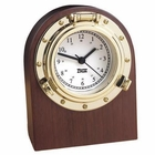 Weems & Plath  Porthole Desk Clock