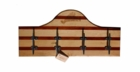 Soundview Millworks Nautically Themed Housewares - Wooden Cleat Board Coat Rack