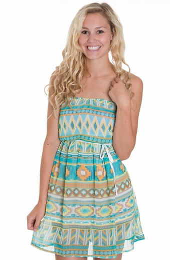 Anama Womens Dress - Pool