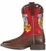 Ariat Childrens Mustang Molly Cowboy Boots - Remuda Brown/Molly (Closeout)