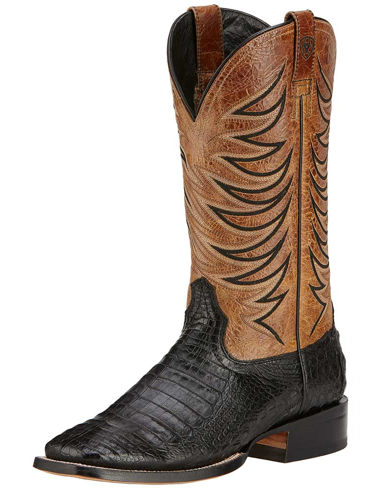 Mens Black Ariat Boots Yu Boots