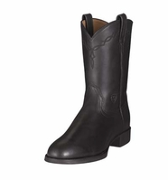 Ariat Men's Heritage Roper - Black (Closeout)