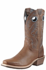 Ariat Men's Heritage Roughstock Cowboy Boots - Distressed Brown (Closeout)