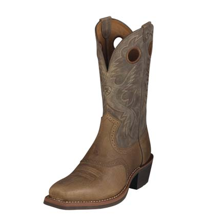 Ariat Men's Heritage Roughstock - Earth / Brown Bomber