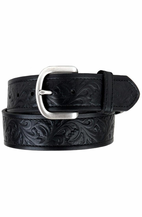 Ariat Men's Holden Embossed Western Belt - Black