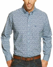 Ariat Men's Long Sleeve Heath Floral Button Down Shirt