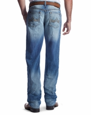 Ariat Men's M2 Troy Low Rise Relaxed Boot Cut Jeans - Light Wash