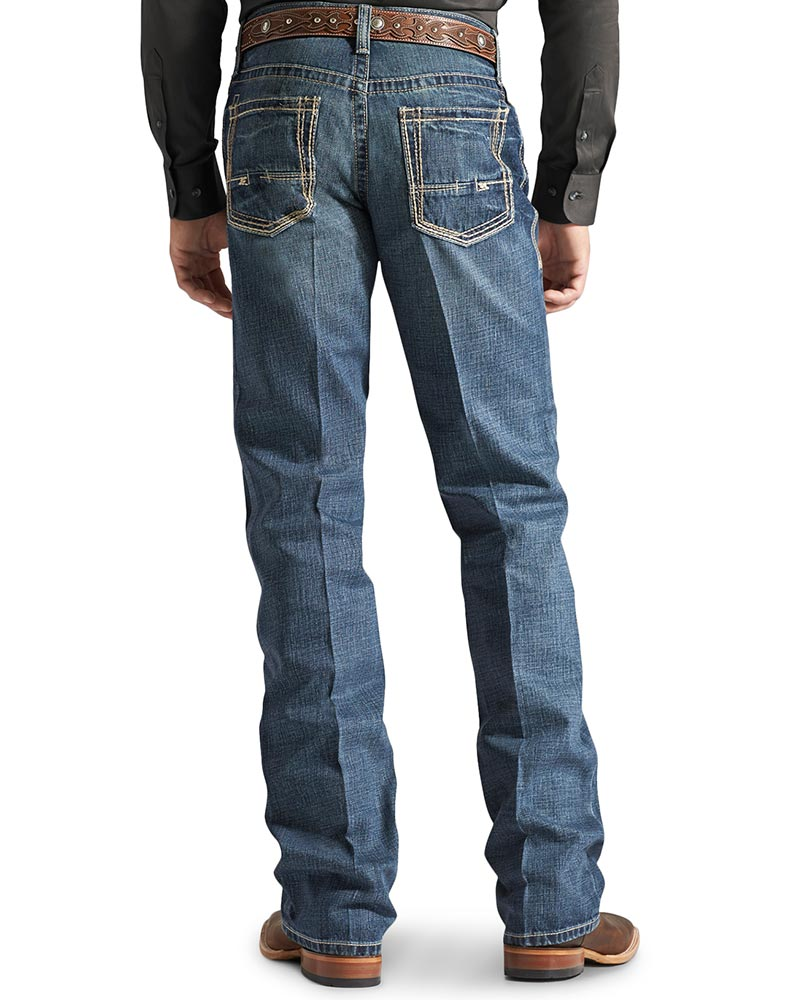 Mens Low Rise Boot Cut Jeans