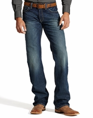 Ariat Men's M4 Relaxed Boot Leg Jeans - Mississippi