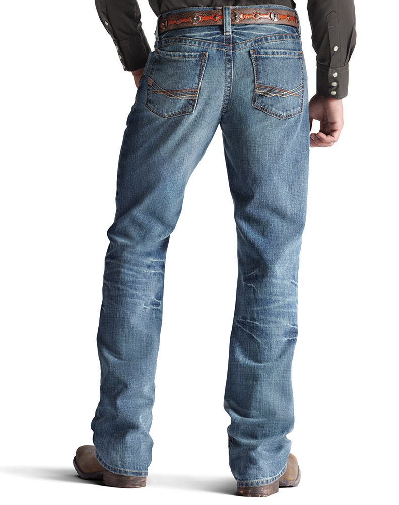 loose bootcut jeans for men - Jean Yu Beauty