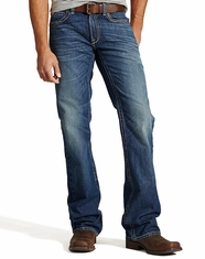 Ariat Men's M6 Slim Boot Cut Jeans - Rowell