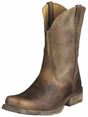 Ariat Men's Rambler Boots - Earth/Brown Bomber