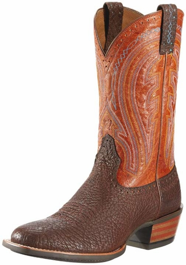 Ariat Men's Ricochet Boots - Brown Bull/ Arizona Brown (Closeout)