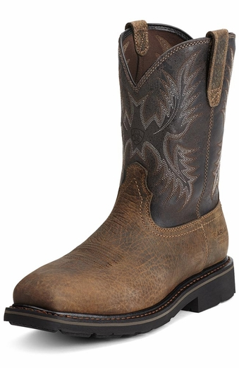 Ariat Men's Sierra Puncture Resistant Work Boots - Earth