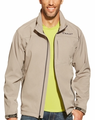 Ariat Men's Vernon Softshell Jacket - Cloudburst